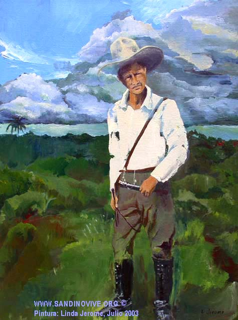 Grl. Augusto Cesar Sandino, Father of the Revolution